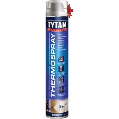 Пена теплоизоляционная напыляемая Tytan Professional Thermospray всесезонная 870 мл