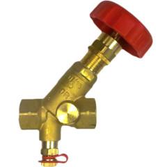 Балансировочный клапан с ручной регулировкой Herz Штремакс-M 10 бар DN 20 мм