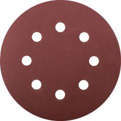 Набор Fit круги шлифовальные с отверстиями Р 180 125 мм, 5 шт.