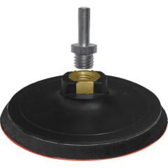 Диск шлифовальный Fit с липучкой гайка М14 и переходник для дрели 125x10 мм