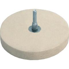 Круг полировочный Fit фетровый со штифтом 115 мм