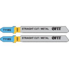 Полотна T118G по металлу 76х51х0.7 мм, 2 шт.