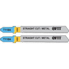 Полотна FIT T301CD по металлу 76х51х1.1 мм, 2 шт.