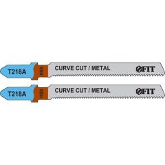 Полотна FIT T218A по металлу 76х51х1.1 мм, 2 шт.
