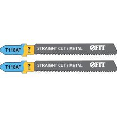 Полотна FIT T118AF по металлу 76х51х1.1 мм, 2 шт.