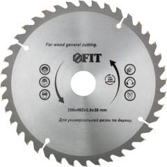 Диск пильный Fit по дереву 210x30x2.6 мм 40 зубьев