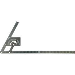 Угломер-квадрант FIT 19317 черный для перенесения контуров на плитку 225x500 мм