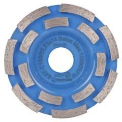 Чашка алмазная Baumesser Beton двухрядная бетон 10 см
