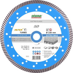 Диск алмазный Distar Turbo Extra Max турбо 232x22.23x2.5 мм