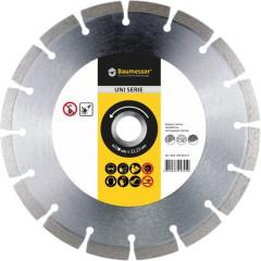 Диск алмазный Baumesser 1A1RSS Universal сегментный 230x22.23 мм