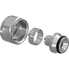 "Евроконус UPONOR Flex-X никелированная латунь d 20х1.9/2.0 мм - 3/4"" внутренняя резьба"