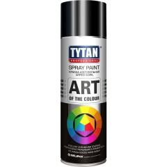 Краска акриловая Tytan Professionaln Art Of The Colour 9005 аэрозольная черный глянец 400 мл
