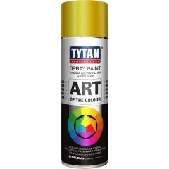 Краска акриловая Tytan Professionaln Art Of The Colour 270м аэрозольная золотой глянец 400 мл