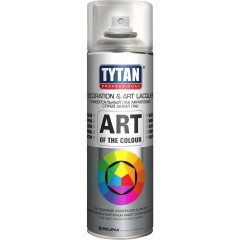 Лак Tytan Professionaln Art Of The Colour 62390 аэрозольный бесцветный глянцевый 400 мл