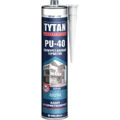 Герметик полиуретановый Tytan Professional PU 40 серый  310 мл