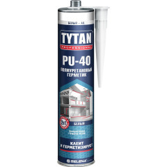 Герметик полиуретановый Tytan Professional PU 40 белый  310 мл