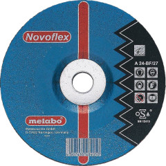 Круг зачистной по металлу Metabo SP-Novoflex 150x22.23x6 мм