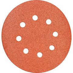 Круги шлифовальные Makita 8 отверстий К100 125 мм, 10 шт.