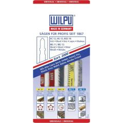 Набор Wilpu SORT 2000 для электролобзика по дереву, пластику и металлу, 5 шт.