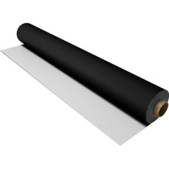 Кровельный материал Plastfoil Eco 2.1х25 м черный