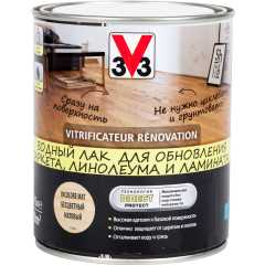 Лак для пола V33 Renovation матовый бесцветный 0.75 л