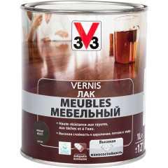 Лак для мебели V33 Meubles глянцевый венге 1 л