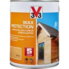 Антисептик V33 Wax Protection с добавлением воска полуглянцевый сосна 2.5 л