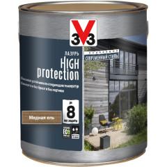Антисептик V33 Модерн High Protection лазурь медная ель полуматовый 2.5 л