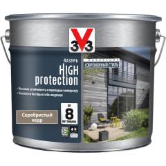 Антисептик V33 Модерн High Protection лазурь серебристый кедр полуматовый 9 л