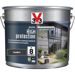 Антисептик V33 Модерн High Protection лазурь графит полуматовый 9 л