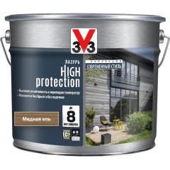 Антисептик V33 Модерн High Protection лазурь медная ель полуматовый 9 л