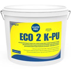 Столярный клей Kiilto ECO 2K-PU для паркета и дерева двухкомпонентный 6 кг