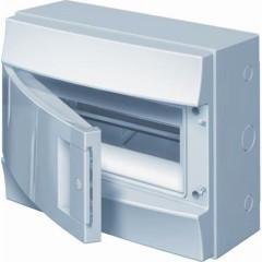 Бокс настенный ABB Mistral41 1SPE007717F9972 12М непрозрачная дверь с клеммами