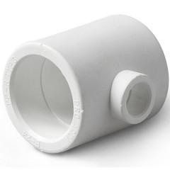 Тройник полипропиленовый Pro Aqua переходной PP-R белый 63-32-63 мм