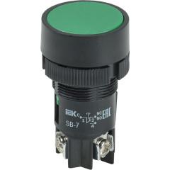Кнопка IEK SВ-7 Пуск 240 В 22 мм зеленая
