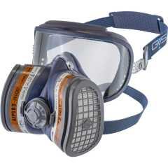 Респиратор с защитой зрения GVS A1P3 SPR401IFUC с клапаном FFP3 размер M/L