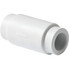 Обратный клапан полипропиленовый Pro Aqua PP-R белый 32 мм