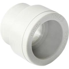 Муфта полипропиленовая Pro Aqua переходная PP-R В-В белая 25-20 мм