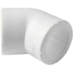 Угольник полипропиленовый Pro Aqua 45 градусов PP-R белый 50 мм