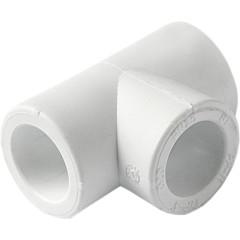 Тройник полипропиленовый Pro Aqua PP-R белый 40 мм