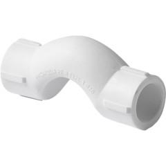 Обвод полипропиленовый Pro Aqua с муфтами короткий PP-R белый 25 мм