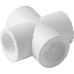 Крестовина полипропиленовая Pro Aqua PP-R белая 20 мм