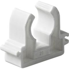 Опора полипропиленовая Pro Aqua одинарная PP-R белая 25 мм
