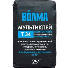 Мультиклей Волма цементный Т-34 25 кг