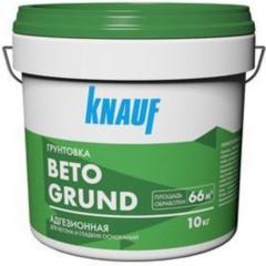 Грунтовка Knauf бетогрунт адгезионная оранжевая 10 кг