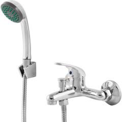 Смеситель для ванны с коротким изливом однорычажный цинк