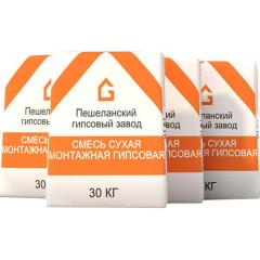 Клей монтажный Волма Монтаж Мороз серый 30 кг