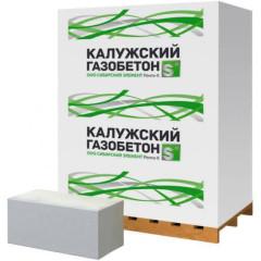 Газобетонный перегородочный блок Калужский газобетон 625х100х250 мм D500 B3.5 1.875/31.875 м3
