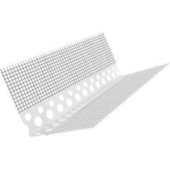 Профиль угловой ПВХ с армирующей сеткой Kolotek 10х15 2.5 м