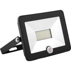 Прожектор светодиодный Saffit 50 Вт 205х40х160 мм 6400 К черный